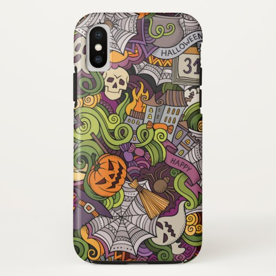 Halloween pattern HTC vivid cover