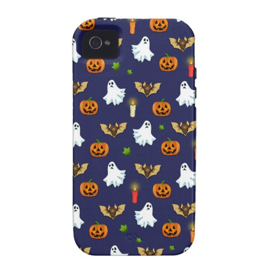 Halloween pattern iPhone 4/4S covers