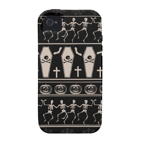 Halloween pattern iPhone 4 case