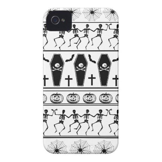 Halloween pattern iPhone 4 cases