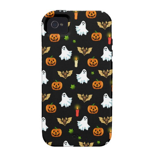 Halloween pattern iPhone 4 covers
