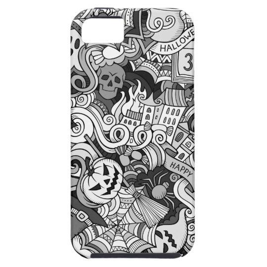 Halloween pattern iPhone 5 case