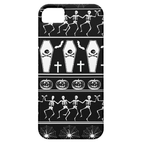 Halloween pattern iPhone 5 cover