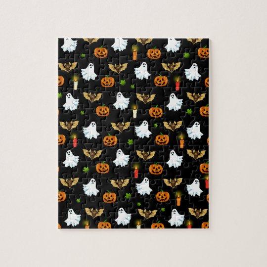 Halloween pattern jigsaw puzzle