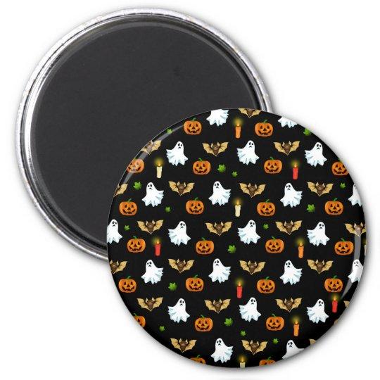 Halloween pattern magnet