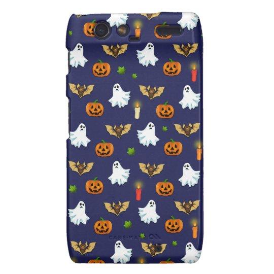 Halloween pattern motorola droid RAZR case