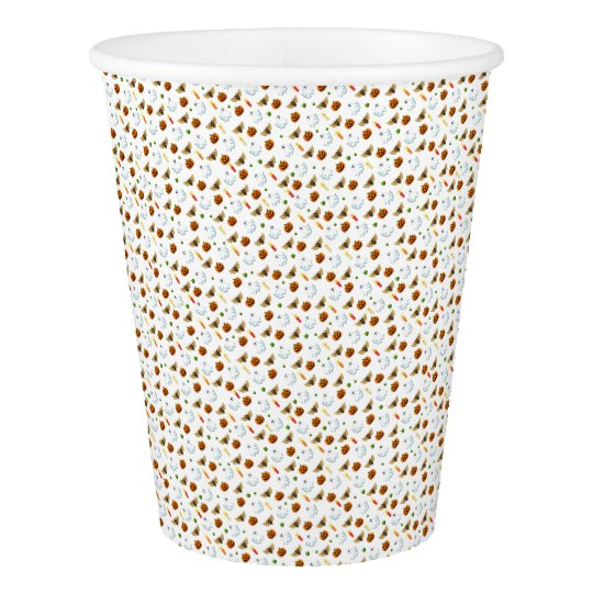 Halloween pattern paper cup
