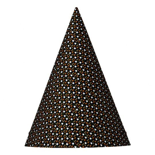 Halloween pattern party hat