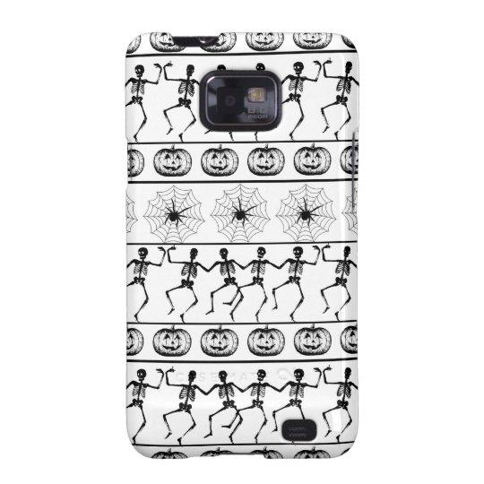 Halloween pattern samsung galaxy SII case