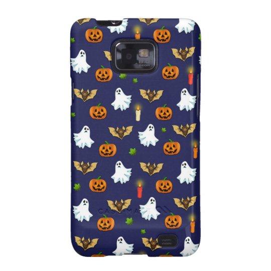 Halloween pattern samsung galaxy SII cases