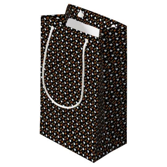 Halloween pattern small gift bag