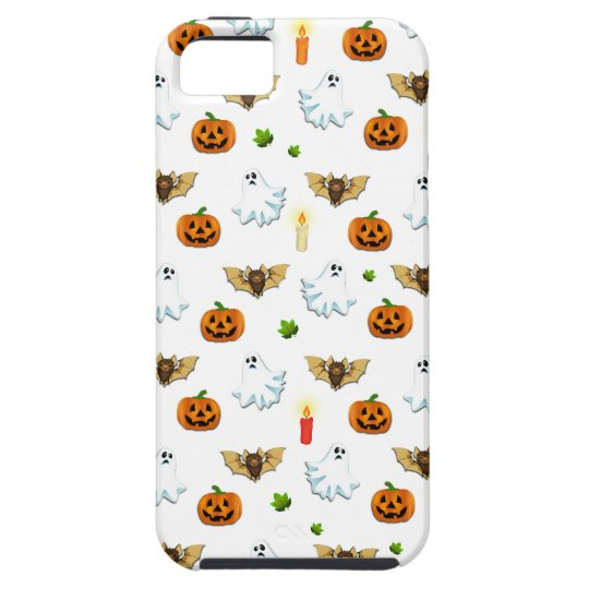 Halloween pattern tough iPhone 5 case