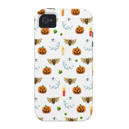Halloween pattern vibe iPhone 4 cases
