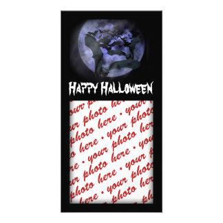 Halloween Photo Card or Photo Gift Tag Photo Greeting Card