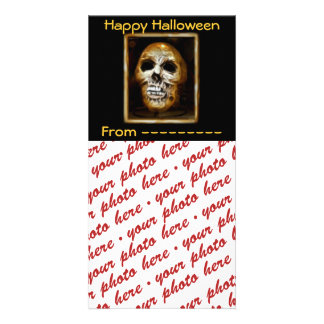 Halloween Photo Card or Photo Gift Tag Picture Card