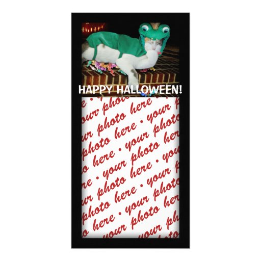 Halloween Photo Card or Photo Gift Tag Photo Cards