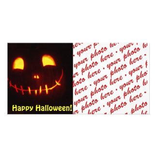Halloween Photo Card or Photo Gift Tag Photo Card