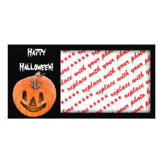 Halloween Photo Card or Photo Gift Tag Photo Greeting Card