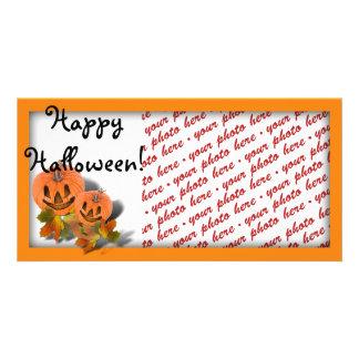 Halloween Photo Card or Photo Gift Tag Custom Photo Card