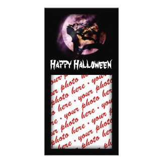 Halloween Photo Card or Photo Gift Tag Photo Card Template