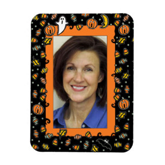 Halloween Photo Frame Magnet