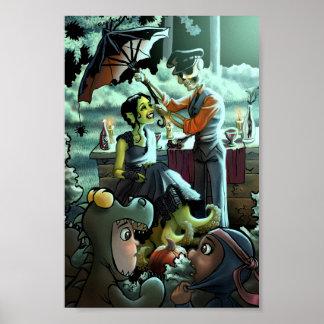 Halloween Picnic Poster