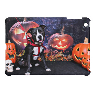 Halloween - Pitbull - Loki iPad Mini Cover