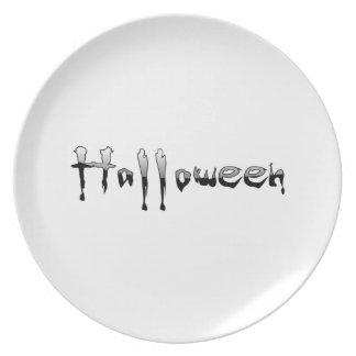Halloween Dinner Plate