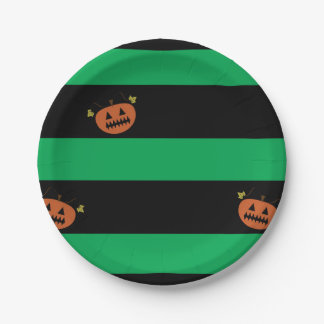 Halloween Plates 7 Inch Paper Plate
