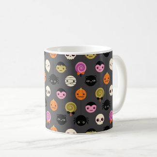 Halloween Polka Dots Pattern Coffee Mug