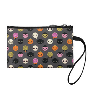 Halloween Polka Dots Pattern Coin Purse