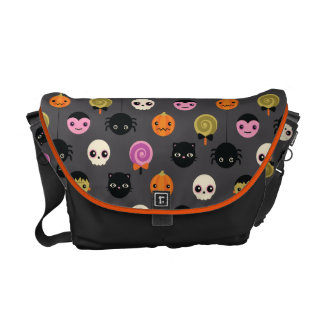 Halloween Polka Dots Pattern Commuter Bag