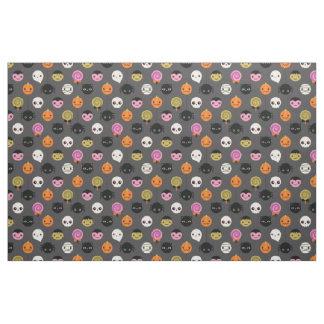 Halloween Polka Dots Pattern Fabric