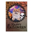 Halloween - Pomeranian - Simba Card