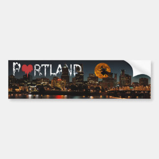 Halloween Portland Bumper Sticker