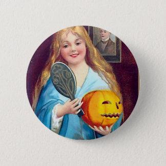 Halloween Postcard - Ellen Clapsaddle 6 Cm Round Badge