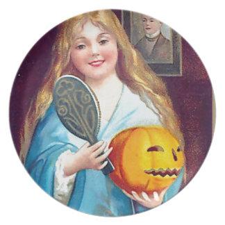 Halloween Postcard - Ellen Clapsaddle Plate