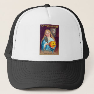 Halloween Postcard - Ellen Clapsaddle Trucker Hat