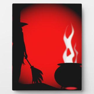 Halloween Poster Background Display Plaque
