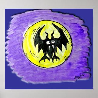 Halloween Poster - Halloween Bat
