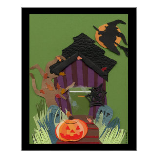 Halloween Poster Print