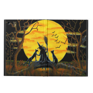 Halloween powiscase, ipad,witch,moon,cats iPad air case