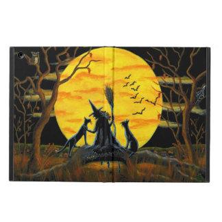 Halloween powiscase, ipad,witch,moon,cats iPad air case