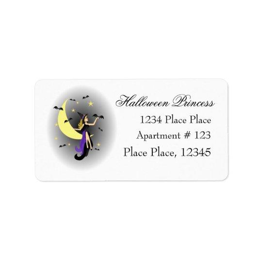 Halloween Princess Label