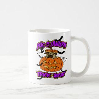 Halloween Pug Mug Pug-o-Lantern