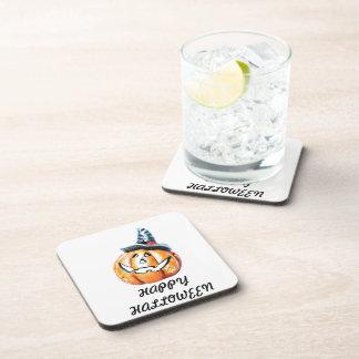 Halloween Pumkin Drink Coasters