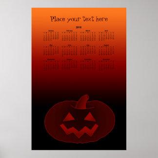 Halloween Pumpkin 002 2018 Poster