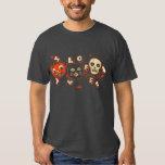 Halloween pumpkin cat skull vintage shirt