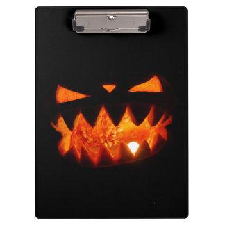 Halloween Pumpkin Clipboard