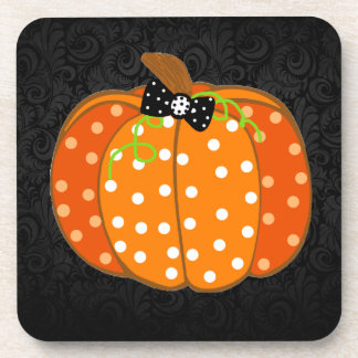 Halloween Pumpkin Drink Coaster